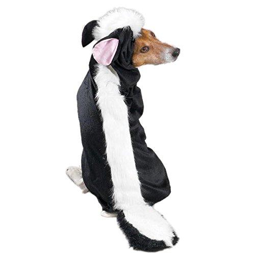 Casual Canine Li'l Stinker Dog Costume, XX-Large, Black/White, 30