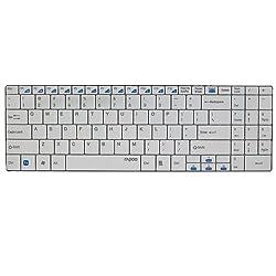 Keyboard Wireless 2Block 2.4G (Blade Series White)-E9070