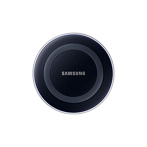 SAMSUNG Wireless Qi Charger Charging Station for Galaxy S6/S6 Edge (Black)-Retail Packaging