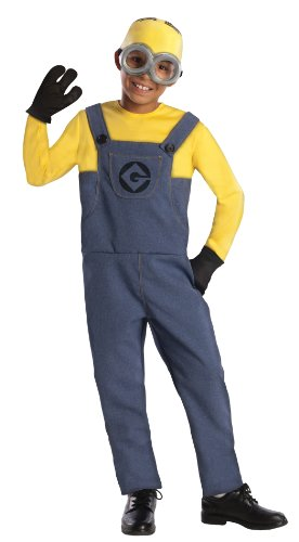 Despicable Me 2 Deluxe Dave Minion Costume, Medium