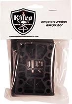 Khiro Wedge / Angled Black Shock Pads - 60a