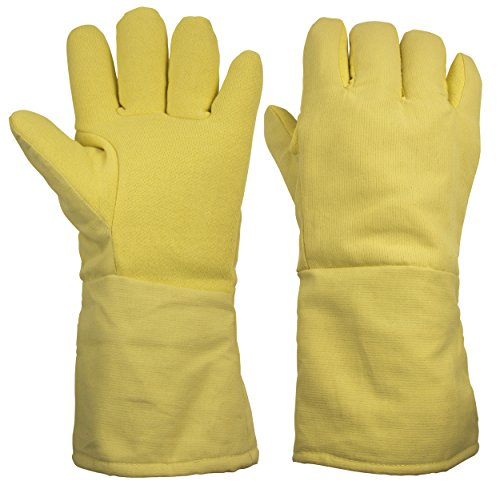 ThxToms G538KB 932°F Heat Resistant and Level 4 Cut Resistant Kevlar Work Gloves 15