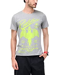 Yepme Men's Graphic Cotton T-shirt - B00O33CVTI