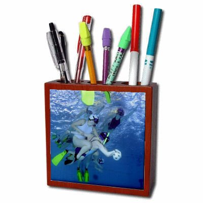 Under Water Sports Pencil Holder