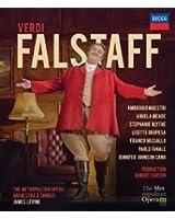 Falstaff: The Metropolitan Opera Orchestra And Chorus (Levine) [Blu-ray] [2015]