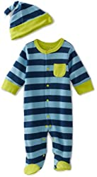 Offspring - Baby  Boys  Footie and Hat