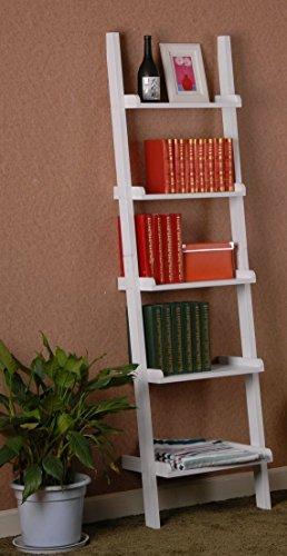 scaletta in legno ikea : SoBuy FRG17-W etag?re murale style echelle, etag?re echelle ...