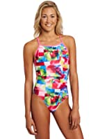 Speedo Women's Starting Blocks Fresh Back Endurance Lite Flipturns Swimsuit
