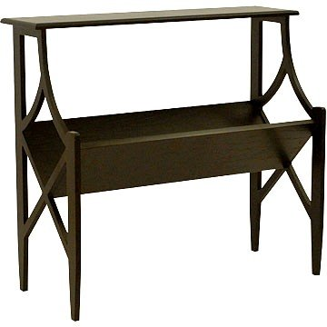 Cheap Carolina Cottage Antique Black Vogue Magazine Console Sofa Table (B001CWQR9S)