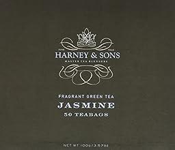 Harney amp Sons Fine Teas Jasmine Fragrant Green Tea - 50 Teabags