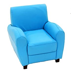 Sky Blue Armchair from A + Child Supply