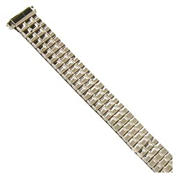 Watch Band Expansion Ladies Silver color fits 10mm to 12mm