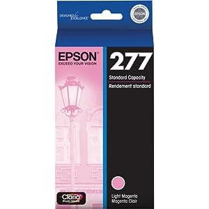 Epson T277620 Epson Claria Photo HD 277 Standard-capacity Light Magenta Ink Cartridge (T277620) Ink