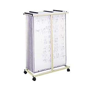Safco Products Mobile Vertical File, Tropic Sand, 5059