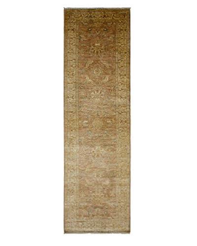 Darya Rugs Oushak Oriental Rug, Beige, 2' 7 x 9' 1 Runner
