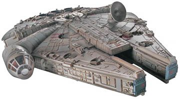 Check Out This Star Wars Millennium Falcon Model Kit