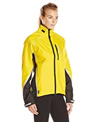 Showers Pass Women's Transit Waterproof Cycle Jacket - Yellow/Black, Medium