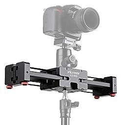 VILTROX V2-500 Compact Camera Video Slider Max loading 5KG Camera Track Dolly Slider Rail Shoot Video Stabilizer , aircraft-grade aluminum