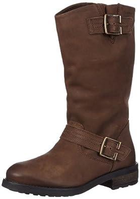 tamaris womens tamaris biker boots brown braun espresso 323 size 8 shoes bags. Black Bedroom Furniture Sets. Home Design Ideas