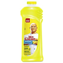 Mr. Clean 82707 Multi-Surface Antibacterial Cleaner, Summer Citrus Scent, 24 oz. Bottle (Pack of 9)