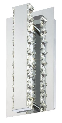 Eurofase 20403-010 Cronos Led Wall Sconce, Chrome