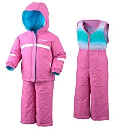 Columbia Snow Brooklyn Reversible Snow Suit - Infant Pink Phlox, 6MO