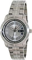 Seiko 5 Silver Dial Stainless Steel Mens Watch SRP335