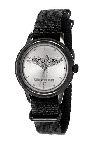 Zadig & Voltaire -Reloj de Pulsera, Analógico cuarzo, Nailon, Mujer