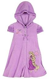Disney Store Rapunzel Hooded Swimsuit Cover Up Swimwear Size XS 4