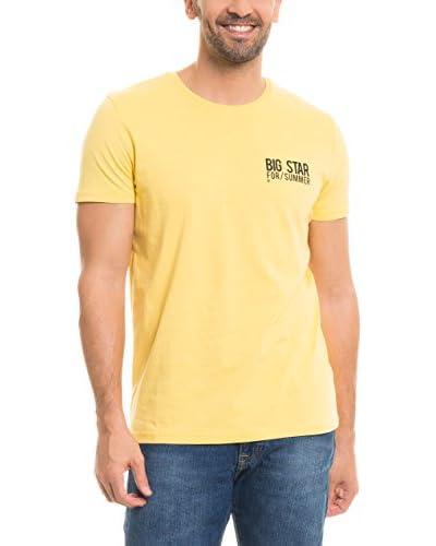 BIG STAR T-Shirt Tenlas_Ts_Ss gelb