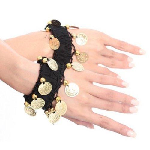 BellyLady Belly Dance Wrist Ankle Arm Cuffs Bracelets, Valentine