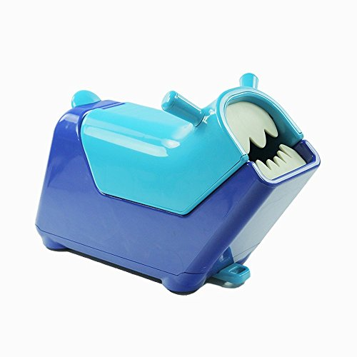 Roomii Ride-on Toy Chest Makes Clean-up Fun, Blue