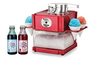 how to make a snow cone machine