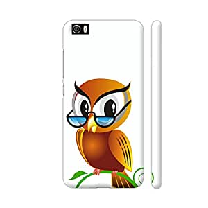 Colorpur Abstract Cute Owl Artwork On Xiaomi Mi 5 Cover (Designer Mobile Back Case)   Artist: WonderfulDreamPicture