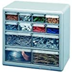 Stack-On DS-12 12 Drawer Storage Cabi...