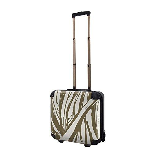 キャラート アートスーツケース ベーシック ソフィスティ(グレーブラウン) ジッパー2輪 機内持込 CRB01-035C