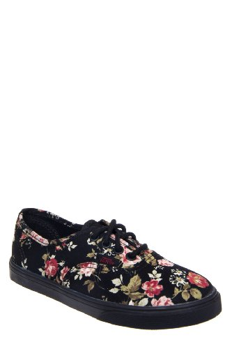 Vans Kids' Authentic Lo Pro Floral Sneaker