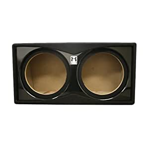 "Fierce Audio XED - 12"" Dual Sealed Bass Subwoofer Enclosure / Box - PS212.1"