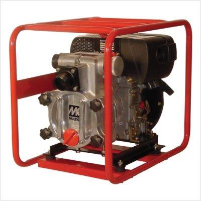 "Multiquip QP2TZ Diesel Powered Trash Pump with SUBARU-HATZ Motor, 198 GPM, 2"" Suction & Discharge"