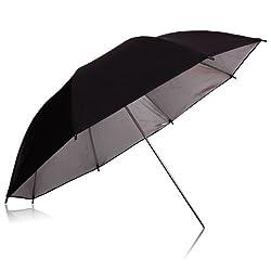 NEEWER 84CM (33 ) Black & Silver Studio Flash Lighting Umbrella