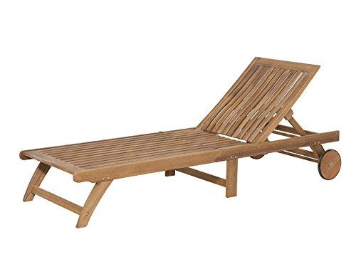 Siena Garden 120515 Liege Paleros Akazienholz FSC® 100% Beschläge aus galvanisiertem Stahl Rücken mehrfach verstellbar