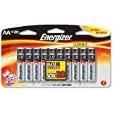 BATTERY, ENERGIZER MAX, AA 16 PK.-E91BP16F4ENE