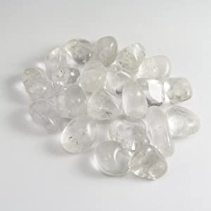 Tumbled Clear Quartz Stone Gemstone Crystal Healing Rock Wiccan Supply