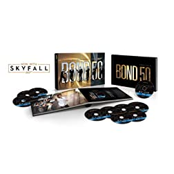 Bond 50: Celebrating Five Decades of Bond with Skyfall [Blu-ray]
