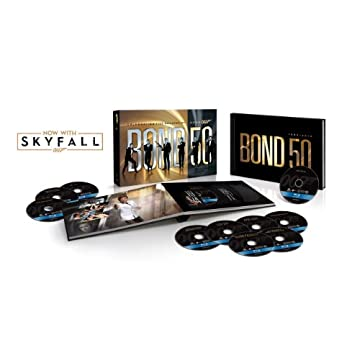 Bond 50: The Complete 23 Film Blu-ray Collection with Skyfall [Blu-ray]