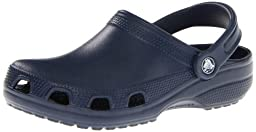 crocs Unisex 10003 Relief Clog,Navy,Women\'s 6 M US/Men\'s 4 M US