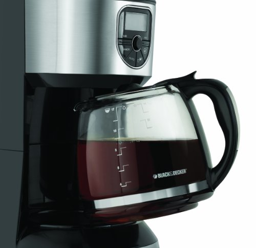 Black And Decker Coffee Maker Cm1300sc : Black & Decker CM4000S 12-Cup Programmable Coffeemaker Black Coffee Maker