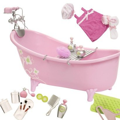 Kitchen accessories for 18 inch dolls room ornament for Gen y bathroom accessories