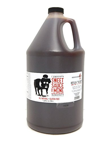 Lambert's Sweet Sauce O' Mine 1 Gallon Jug Original BBQ Sauce (O Sauce compare prices)