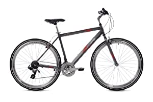 Jeep Compass Mens Hybrid Bike (700c Wheels, 22-Inch Frame) by Jeep